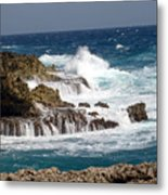 Bonaire North Shore 1 Metal Print