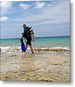 Bonaire Shore Diving 3 Metal Print