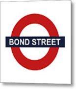 Bond Street Metal Print