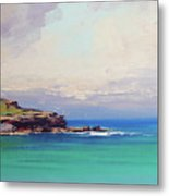 Bondi Beach Colours Metal Print