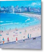 Bondi Beach Summer Metal Print