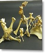 Bone Creatures One Metal Print