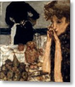 Bonnard: Breakfast, C1899 Metal Print