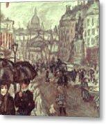 Bonnard: Place Clichy, C1895 Metal Print