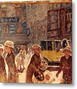 Bonnard: Place Clichy Metal Print