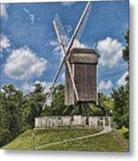 Bonne Chiere Windmill Metal Print