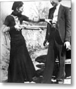 Bonnie And Clyde, 1933 Metal Print