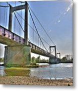 Bonny Bridge Metal Print