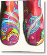 Boogie Shoes Metal Print