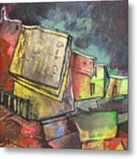 Book City Metal Print