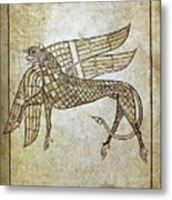 Book Of Durrow, C680 A.d Metal Print
