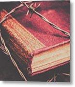 Book Of Secrets, High Security Metal Print