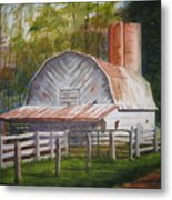 Boone Barn Metal Print