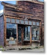 Boone Store And Warehouse Metal Print