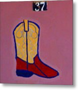 Boot 37 By Darian Day Metal Print