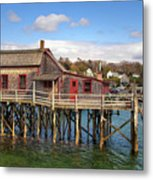 Boothbay Harbor 02287 Metal Print