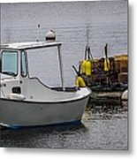 Boothbay Harbor, Me Metal Print