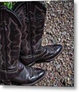 Boots 2  Metal Print