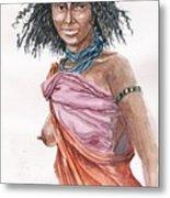 Boran Woman Metal Print