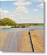 Border On Zambezi River Metal Print