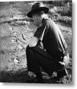 Border Patrol Inspector Metal Print