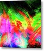 Borealis Explosion Rupture Metal Print