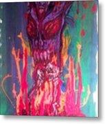 Born Of Fire Metal Print