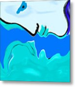 Born Of The Ocean Metal Print