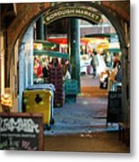 Borough Market Metal Print