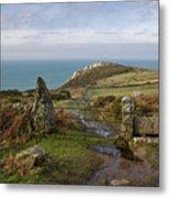 Bosigran In North Cornwall Metal Print