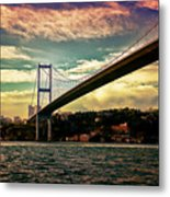 Bosphorous Bridge Metal Print