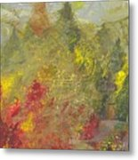 Bosque  Forest Metal Print