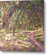 Bosque Light Metal Print