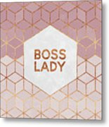 Boss Lady Metal Print