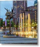 Boston Art 3 Metal Print