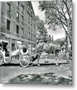 Boston Buggy Metal Print