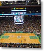 Boston Celtics Metal Print by Juergen Roth