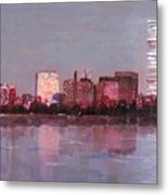 Boston Evening Metal Print by Lyn Vic