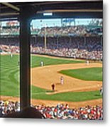 Boston Fenway Park Metal Print