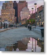 Boston From Long Wharf Metal Print