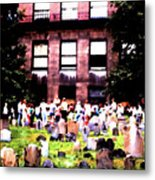 Boston Family Gathering Metal Print