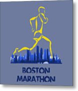 Boston Marathon5 Metal Print
