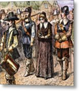Boston: Mary Dyer, 1660 Metal Print
