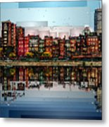 Boston, Massachusetts Metal Print