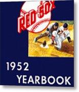 Boston Red Sox 1952 Yearbook Metal Print
