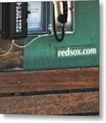 Boston Red Sox Dugout Telephone Metal Print