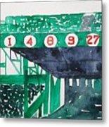 Boston Retired Numbers Metal Print