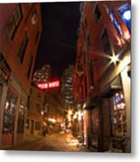 Boston Street Metal Print