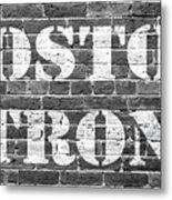 Boston Strong Metal Print