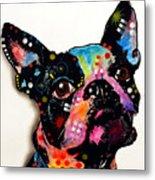 Boston Terrier II Metal Print by Dean Russo
